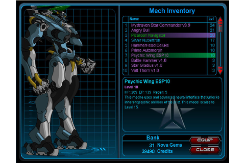Mechquest Psychic Wing ESP10 by popkid11 on DeviantArt