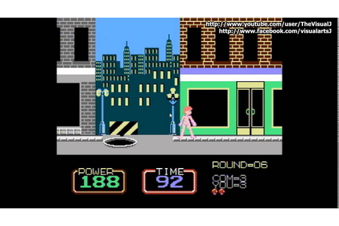 Retro: Urban Champion -cherry boy romhacked- NES/Famicom ...