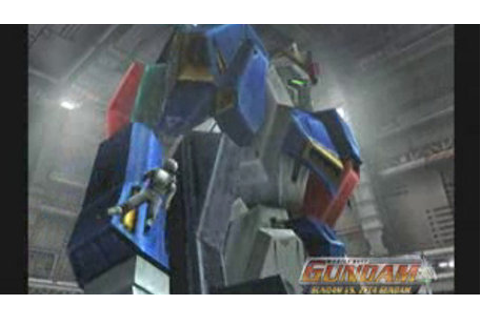 Mobile Suit Gundam: Gundam vs. Zeta Gundam Game | PS2 ...