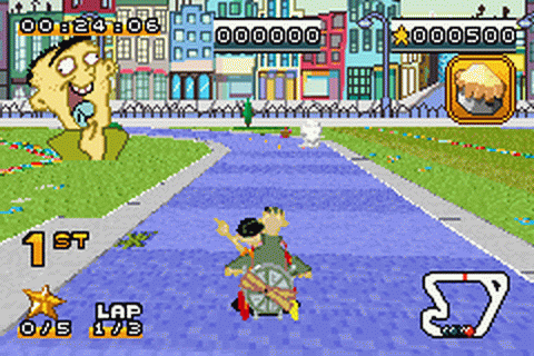 Play Cartoon Network Speedway Nintendo Game Boy Advance ...