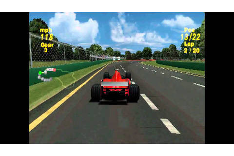 Formula One 99 ... (PS1) - YouTube