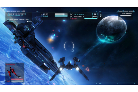 Strike Suit Zero full game free pc, download, play. Strike ...