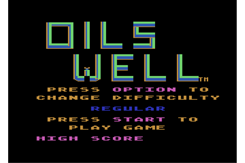Download Oil's Well (Action) - My Abandonware