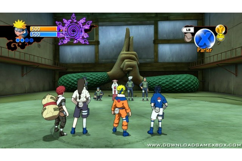 Naruto Rise of a Ninja [Jtag/RGH] - Download Game Xbox New ...
