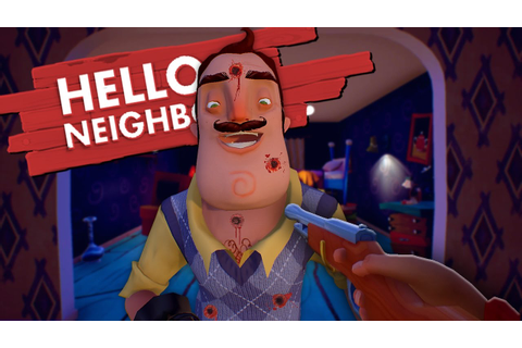 POISONING AND KILLING THE NEIGHBOR | Hello Neighbor Game ...
