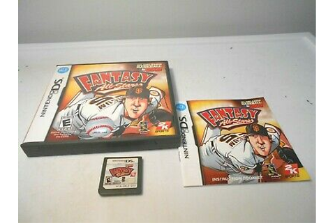 Major League Baseball 2K9 Fantasy All-Stars (Nintendo DS ...