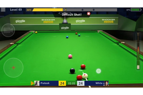 Best Android 3D Snooker game with attractive challenges ...