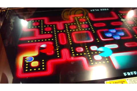 Pac-Man: Battle Royale 4-player arcade game out now