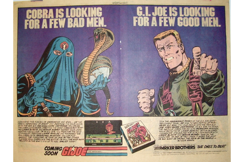 Atari 2600 VCS G.I. Joe - Cobra Strike : scans, dump ...