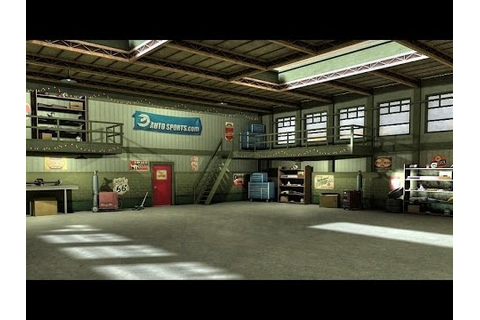 Game Asset: Garage 3D Model - YouTube