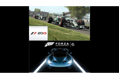 Forza Motorsport 6/F1 2015 Game News + Screenshots - YouTube