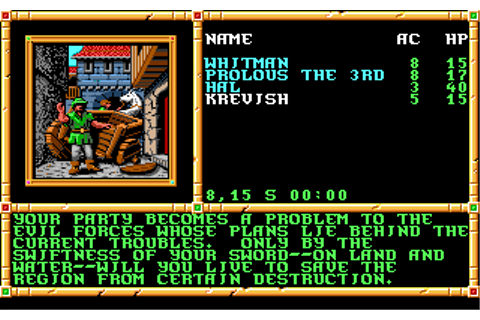 Gateway to The Savage Frontier | Old MS-DOS Games ...