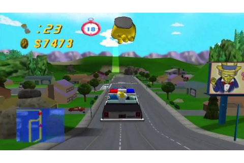 The Simpsons Road Rage Gameplay and Commentary [HD] (PS2 ...