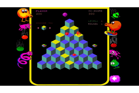 Jump back to the arcade with Qbert Rebooted