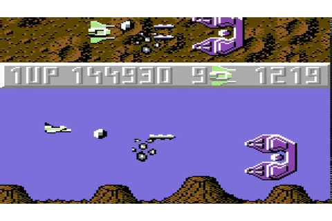 Sanxion (c64) 50FPS longplay - YouTube