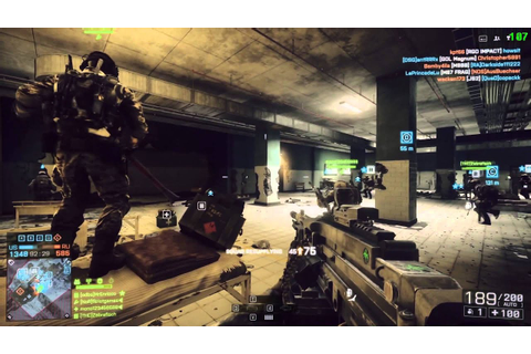 Battlefield 4 Gameplay - Operation Locker - MG4 and ...