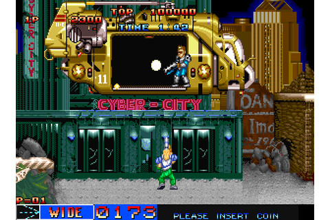 Cyber-Lip (1990) by SNK Neo-Geo game