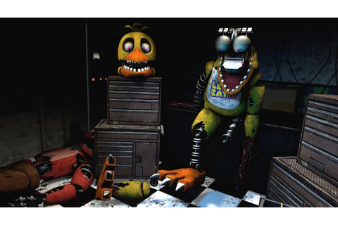 [FNAF Help Wanted] Repairing Withered Chica Game-play ...