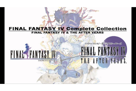Final Fantasy IV Complete Collection USA PSP ISO Download ...