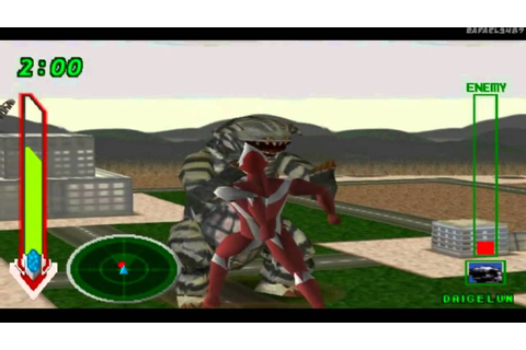 Ultraman Tiga & Ultraman Dyna:New Generations PS1 (Part 12 ...