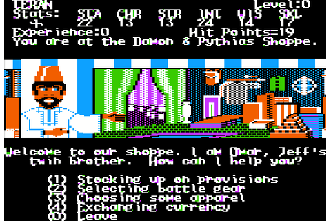 Alternate Reality: The Dungeon (1987) by Datasoft Apple II ...