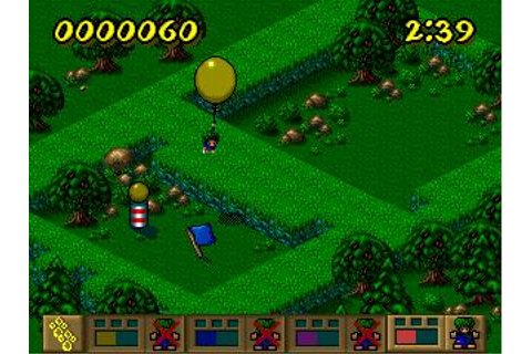 Lemmings Paintball Download (1996 Puzzle Game)