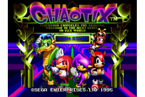 Knuckles Chaotix - Marina Madness [Extended] - YouTube