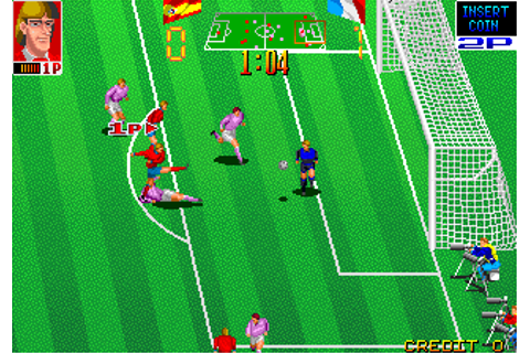 Play Football Champ Coin Op Arcade online | Play retro ...