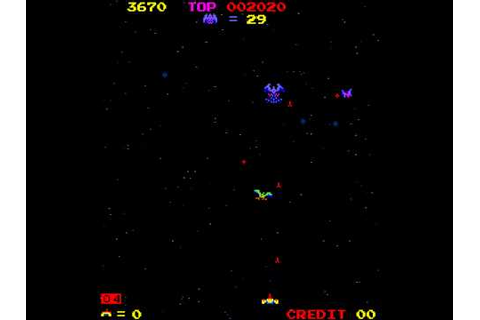 Arcade Game: Space Firebird (1980 Nintendo) - YouTube