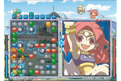 Octomania online puzzle game announced for Wii by Atlus
