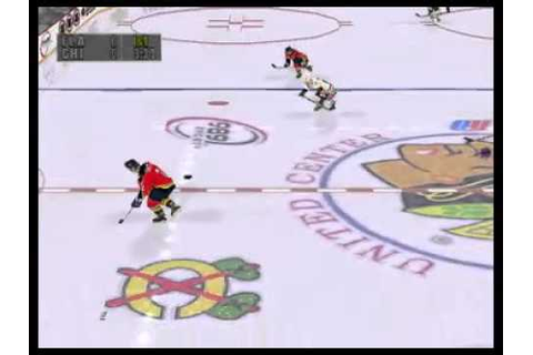NHL Faceoff '99 (PlayStation One) - YouTube