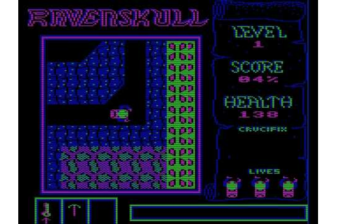 Ravenskull (Acorn Electron Emulation) - Levels 1 and 2 ...