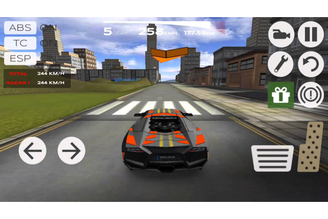game play Extreame car driving #1 lamborghini walkthrough ...