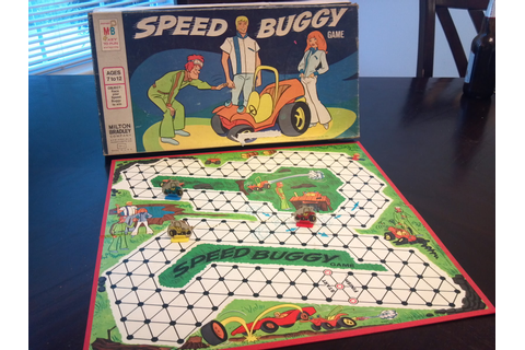 Speed Buggy Game | A Board Game A Day