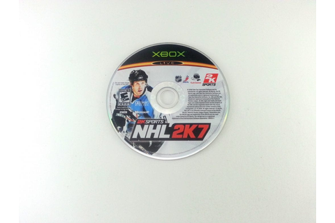 NHL 2K7 game for Xbox 360 (Loose) | The Game Guy