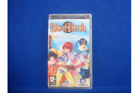 psp TALES Of ETERNIA Game 2.50 NON GLITCH VERSION Pal ...