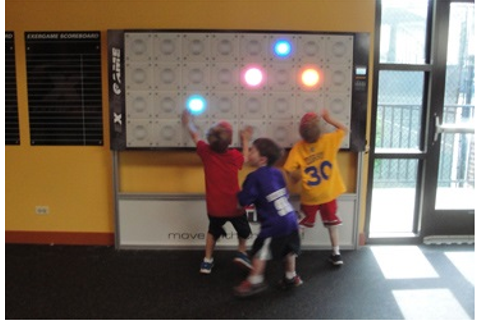 Active Wall Games-Interactive Fitness Wall Games