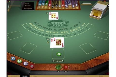 Big 5 Blackjack - Online Blackjack For Real Money