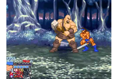 Golden Axe Myth Gameplay - Level 1: The Forest Complete ...