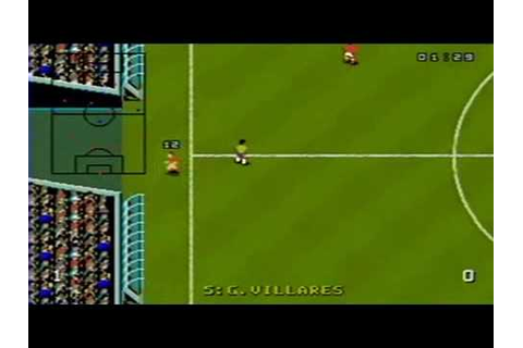 World Cup USA 94 sur Megadrive - YouTube