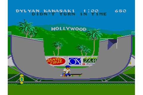 California Games / Master System / 1989 / Sega Does
