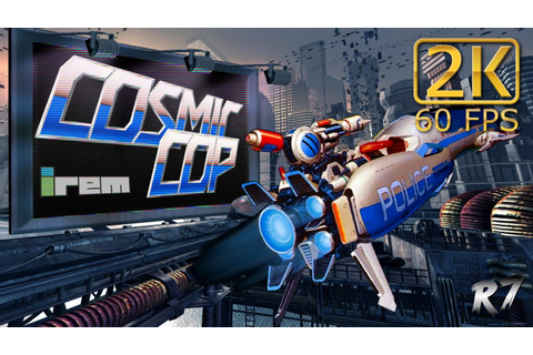 Cosmic Cop (Armed Police Unit Gallop) | Arcade | Longplay ...