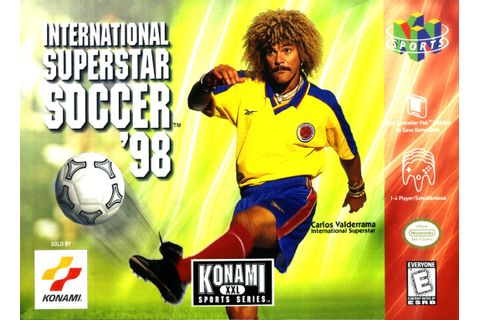 International Superstar Soccer Pro 98 (1998) (avec images ...