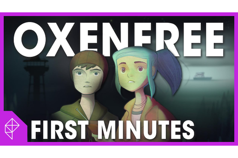 First 13 Minutes of OXENFREE Gameplay - YouTube