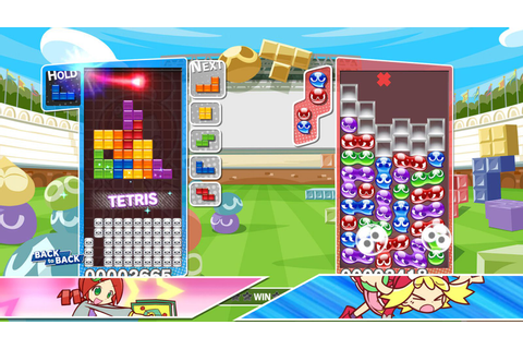 Puyo Puyo Tetris's physical Nintendo Switch version costs ...