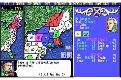 Liberty or Death Download (1993 Strategy Game)