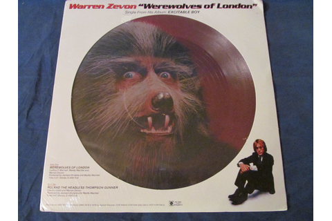 The Secret Inspiration Behind Warren Zevon's 'Werewolves ...