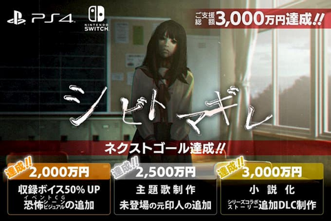 Shibito Magire Raises 30 Million Yen In Crowdfunding ...