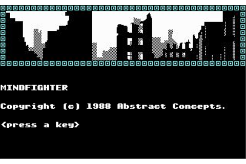Mindfighter Download (1988 Adventure Game)