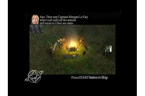 Legion: The Legend of Excalibur PlayStation 2 - YouTube